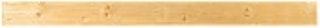 T&J TRELLEBORG Steckzaunsystem Brett gerade 180 x 14,5 x 2,8 cm