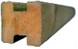 T&J TRELLEBORG Steckzaunsystem Verbindungspfosten 9x9x210 cm