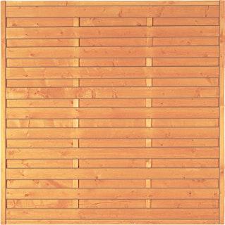 T&J SUNLINE Lammellenzaun 180 x 180 cm