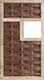 T&J LABO-3D Weidengeflechtzaun 94x 180 cm, 1 Fenster mittig