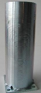 T&J LIGHTLINE Pfostenkonsole für Zaunpfosten zum Aufdübeln