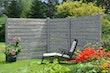 T&J KASIA Sichtschutzzaun 180 x 180 cm