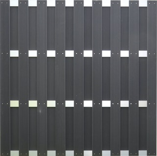 T&J JINAN WPC Sichtschutzzaun 180x180