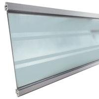 T&J Gotland WPC Stecksystem Glasfüllung