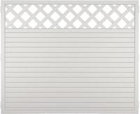 T&J LIGHTLINE Kunststoff Zaun Ranki 180x150