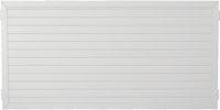 T&J LIGHTLINE Kunststoff Zaunelement 1800 x 900 mm, weiß