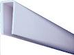 T&J LIGHTLINE Steckzaunsystem U-Abschluss-/Rahmenprofil 1800 mm