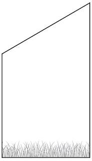 T&J VETRO Glas-Sichtschutz mit Lasergravur Typ Schräg 120/180