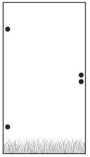 T&J VETRO Glas-Sichtschutz mit Lasergravur Tür