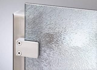 VETRO Glasscheibe Dekor 45/01, B 1200 x H 1800 mm, Struktur Chinchilla