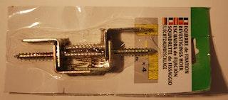 T&J Winkelbeschlag mit Schrauben 4er Set