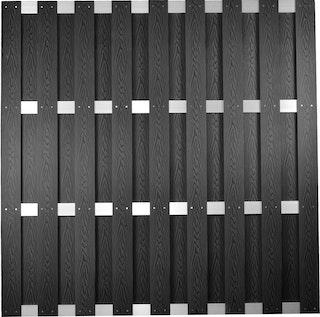 T&J DALIAN WPC Sichtschutzzaun 180x180 cm