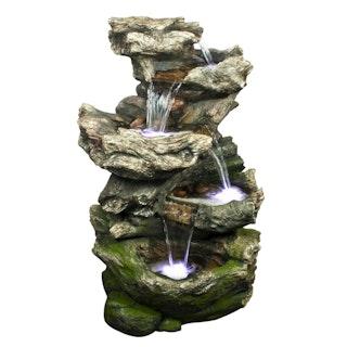 Ubbink Wasserspiel Norfolk mit integriertem Wasserfall