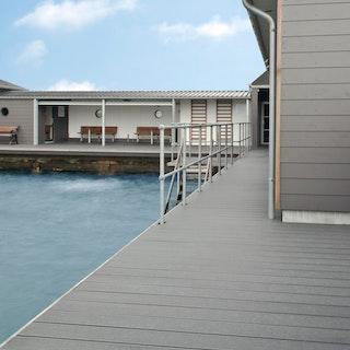 Terrassendiele UPM ProFi Design Deck-Perlgrau