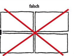 Verlegung-Falsch