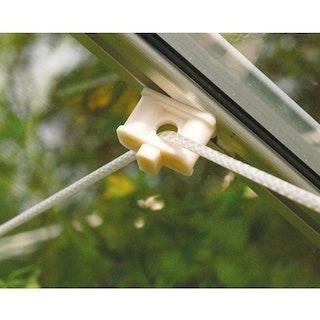Vitavia Pflanzenhalter um Befestigungspunkte an Aluprofilen zu schaffen