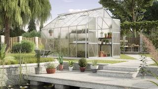 Vitavia Gewächshaus Uranus 9900 inkl. 4 Dachfenstern - 9,9 m²