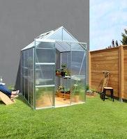 Vitavia Anlehn-Gewächshaus Flora 3800 inkl. Dachfenster - 3,8 m²