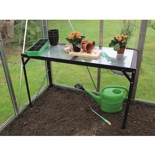 Vitavia Aluminium-Tisch mit Hohlkammerplatten - 1 Ebene