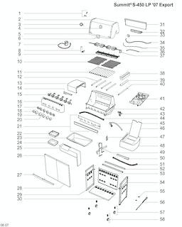 Weber Summit S-450 LP SS (2010) (DE)