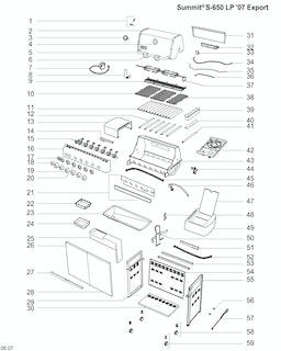 Weber Summit S-650 LP SS (2010) (DE)