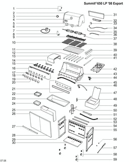 Weber Summit E-650 LP Blk (2010) (DE/AT)