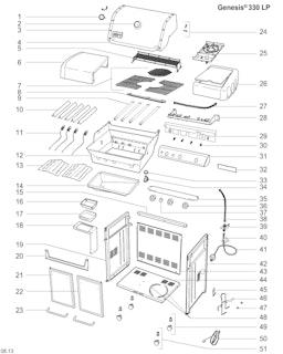 Weber Genesis E-330 LP Blk w/GBS (2014) (DE/AT)