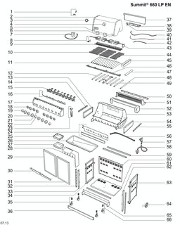 Weber Summit S-660 LP SS B/I (2014) (DE/AT)