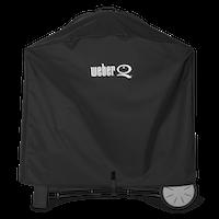 Weber Premium Abdeckhaube für Q-Serie mit Premium Rollwagen (7184)