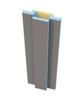 WEDI Moltoromo Versorgungssegment gerade, 2600 x 600 x 100 mm