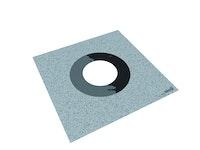 WEDI Tools Dichtmanschetten vlieskaschiert, dehnbar, DN 90-125, 250x250mm Ø 135mm