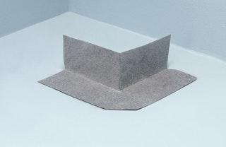 WEDI Tools Dichtecke außen vlieskaschiert, 115 x 115 mm