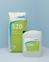 WEDI 520 Dichtschlämme, 30 kg Kombigebinde
