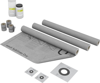 wedi Tools Wand Dicht-Set