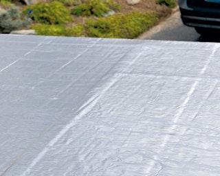 Selbstklebende Dachbahnen für Flachdächer