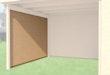 Weka Seitenwand für Anbau 240 cm tief für Designhaus 126, 172