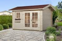 Weka 45 mm Gartenhaus 152