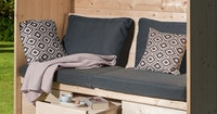 Weka Sitzkissen/Rückauflage für Merano und Bozen