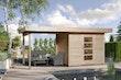 Weka 28 mm Designhaus 172 B inkl. 300 cm Anbau