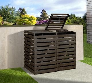Weka Mülltonnenbox für 2 od. 3 240 Liter Tonnen - 19 mm