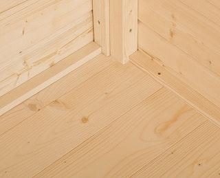 Weka Fußboden für Gerätehaus 344/345