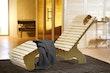 Weka Wellnissage-Komfort-Liege inkl. Saunabadetuch