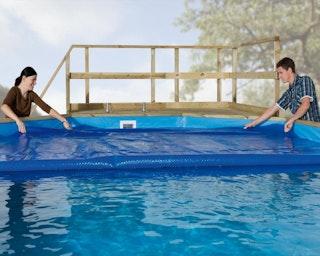 Weka Wärmeplane für Pools