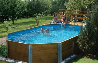 Weka 45 mm Swimmingpool 594 A Sparset - 376 x 850 cm