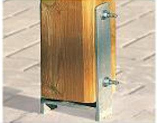 Weka H-Anker-Set für Sonnendach Siesta (4 Anker für 12 x 12 cm Pfosten)