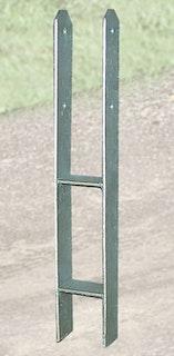Weka H-Anker-Set für Gartenoase 651 + B (Gr. 1) / Gartenlaube 656