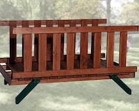 Weka Tabaluga Verbindungselement Brücke für Spielturm 816, 816 A-816 E