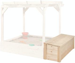 Weka Truhe für Kinderspielhaus Drachenhöhle / Spielhaus 818