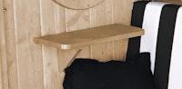 Weka seitliches Ablageset aus Holz für Bozen und Merano