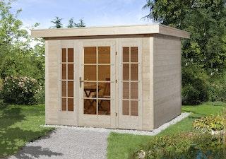 Weka Gartenhaus 172 mit Fensterfront - 21 mm